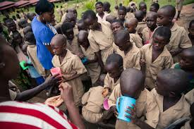 Deworming of school-aged children